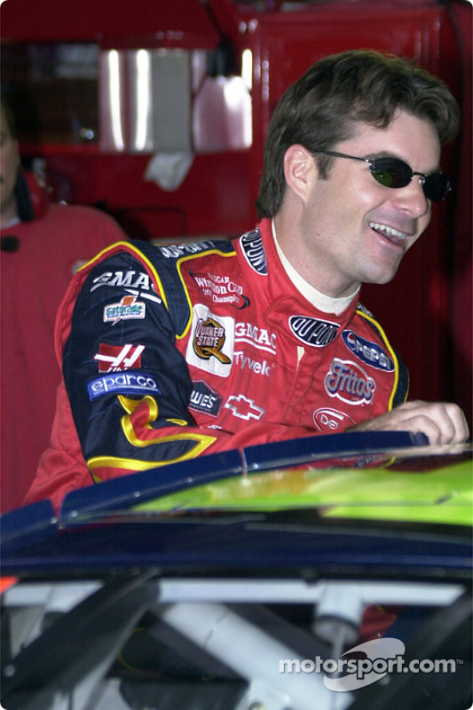 Jeff Gordon se llevó la pole position