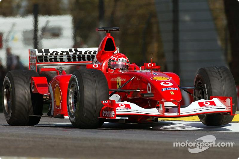 #45 GP de Saint-Marin 2002 (Ferrari F2002)