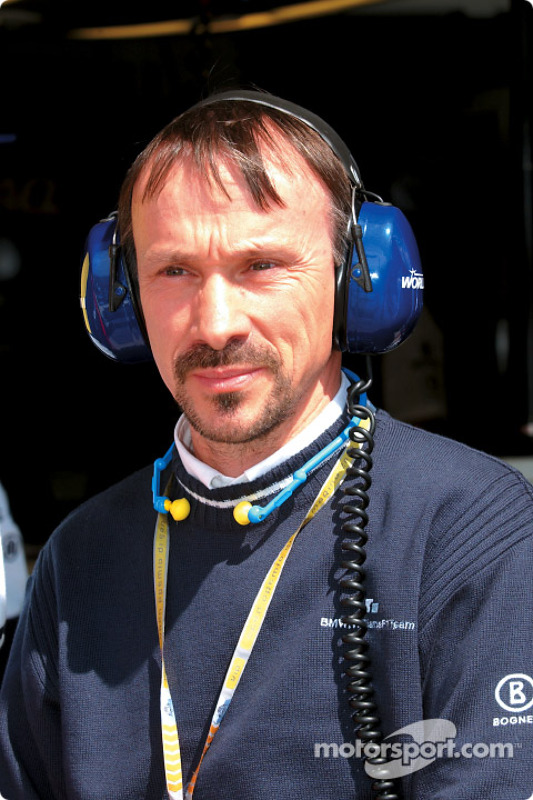 BMW head of F1 construction Heinz Paschen