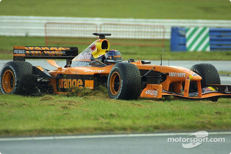Excursión fuera de la pista para Heinz-Harald Frentzen
