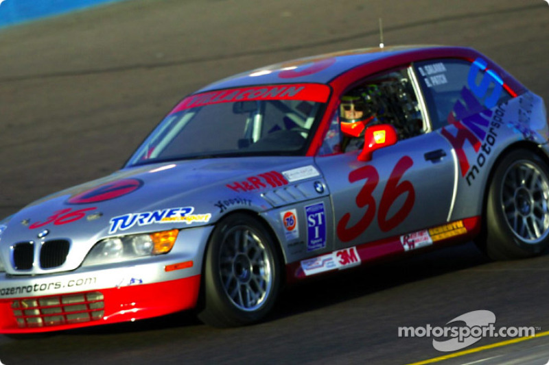 The Villaconn International #36 BMW Z3 was fastest in UnitedAuto Touring 250 practice on Thursday