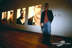 Julian Opie réunit l'art et la Formule 1 : Julian Opie