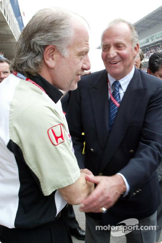 David Richards and King Juan Carlos