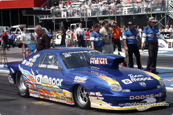Larry Morgan's Pro Stock Neon