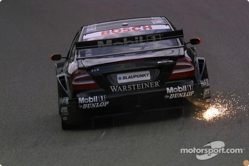 DTM, Zolder 2002: Uwe Alzen, HWA, Mercedes CLK