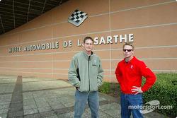 Visite du Musée du Mans : Gunnar Jeannette et David Donohue
