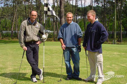 A game of golf inside Le Mans with Team Panoz: David Brabham, Bill Auberlen and Jan Magnussen