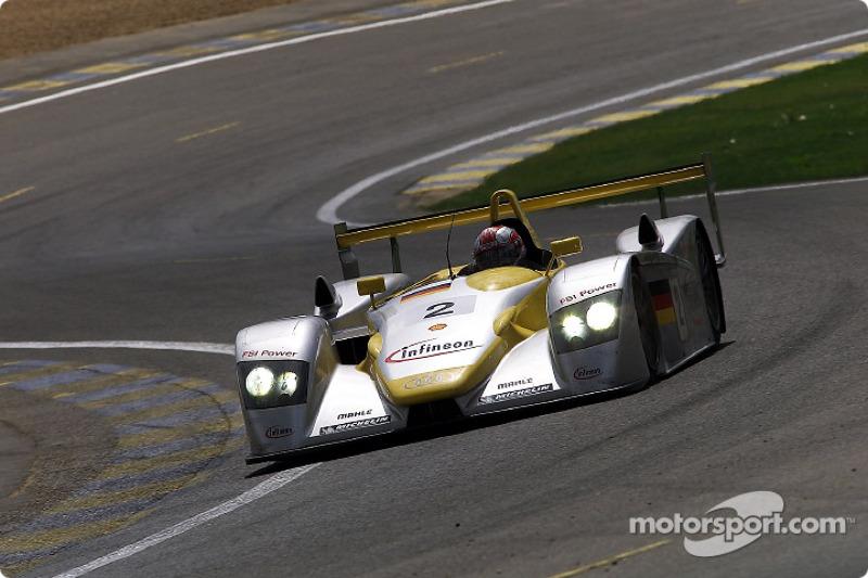 Rinaldo Capello en el Infineon Audi R8 #2
