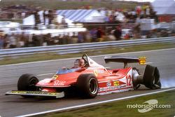 Gilles Villeneuve auf drei Rädern