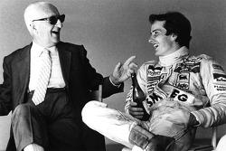 Enzo Ferrari und Gilles Villeneuve