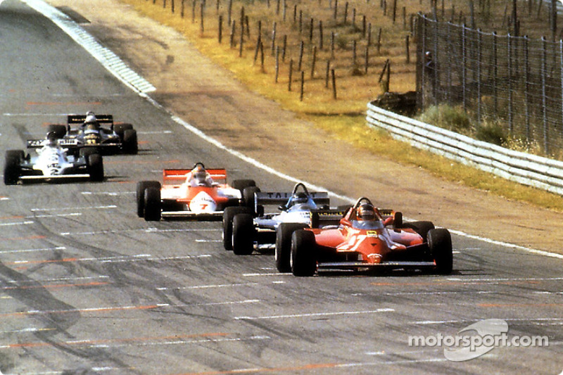 1981: Гран При Испании, Ferrari 126CK