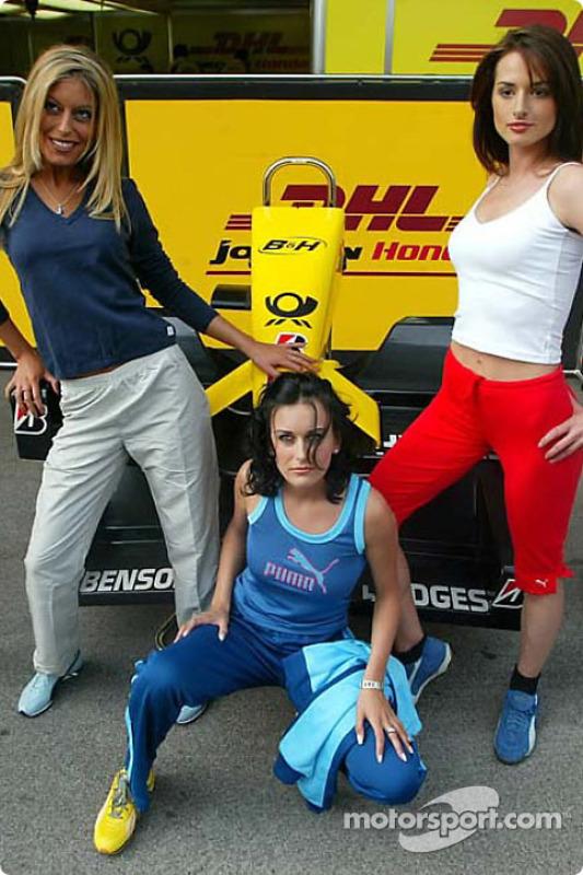 Chicas del Gran Premio de Austria