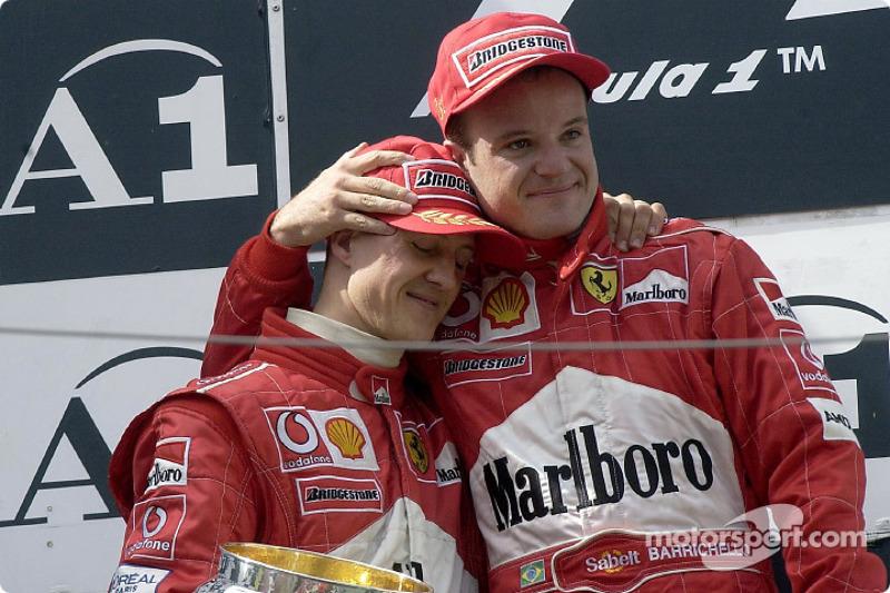 Гран Прі Австрії 2002 року: наказ команди