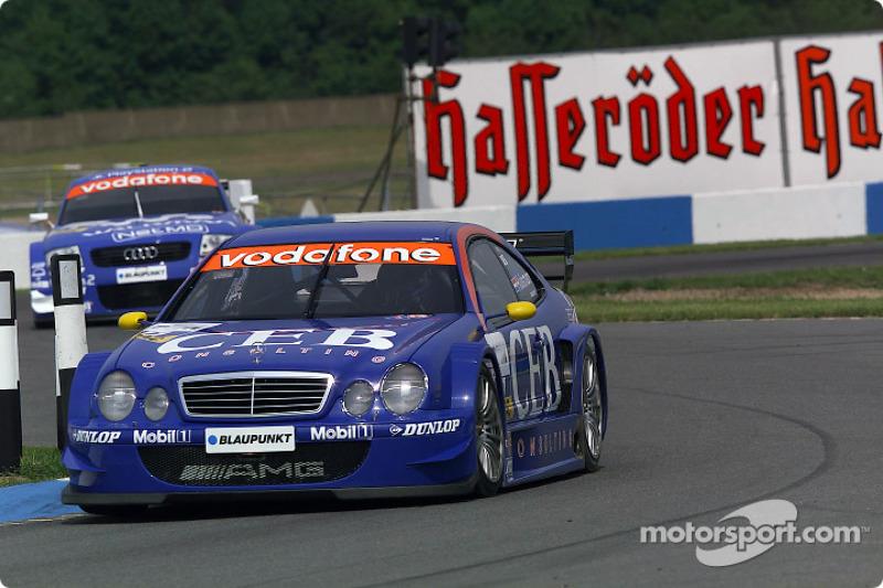 Patrick Huisman Manthey Racing AMG Mercedes CLK DTM 2001