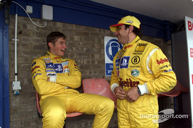 Martin Tomczyk and Christian Abt