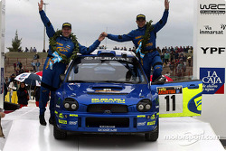 Petter Solberg and co-driver Phil Mills