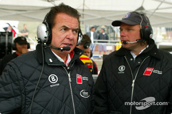 Team Audi North America director Reinhold Joest