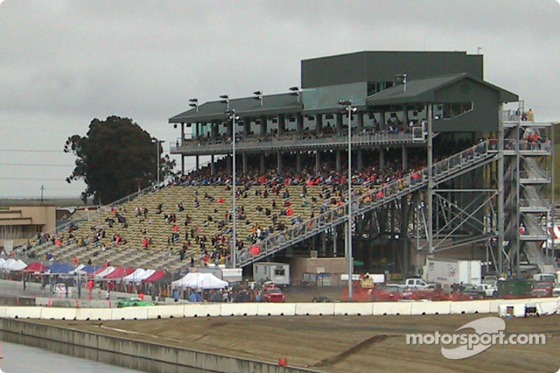 Grandstands at Sears Point