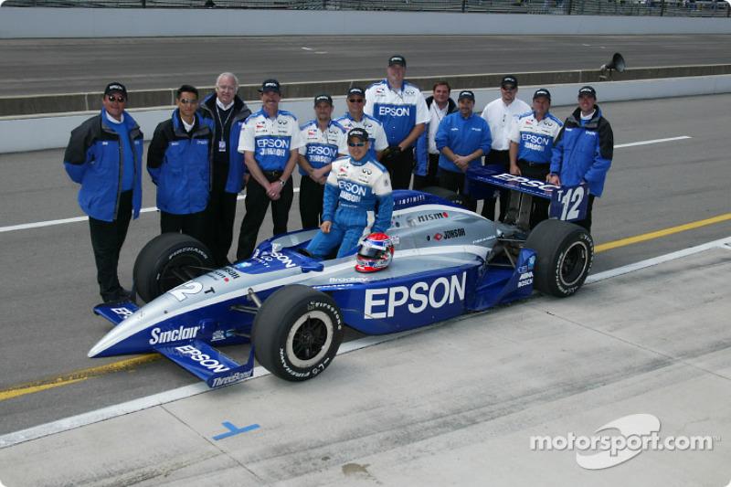 Shigeaki Hattori and team