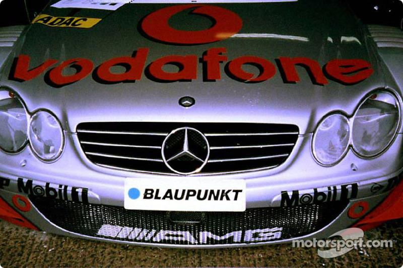 Looking mean: Mercedes-Benz CLK-DTM