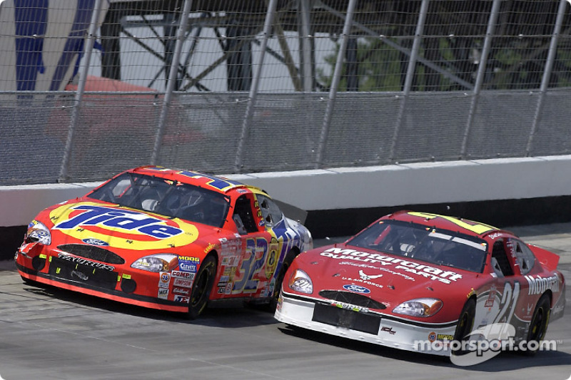 Ricky Craven and Elliott Sadler