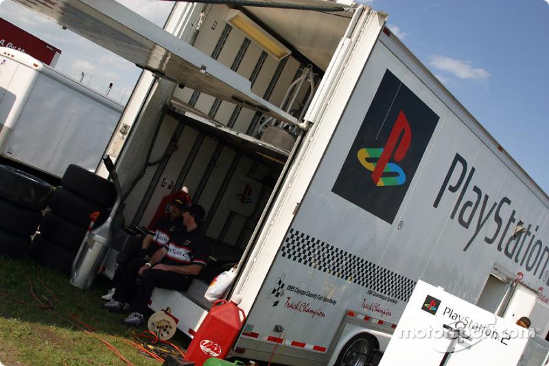 Team Playstation 2 transporter