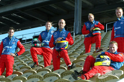 The Panoz drivers