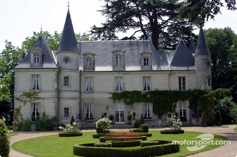 Cuarteles de Motorsport.com durante las 24 Horas de Le Mans: el Chateau de Montgouverne en el área de Tours