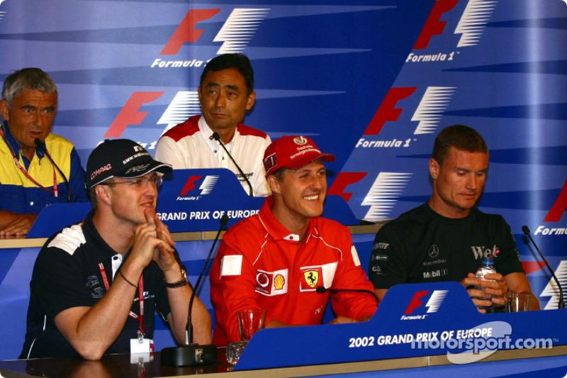 Conferencia de prensa del jueves: Ralf y Michael Schumacher, y David Coulthard