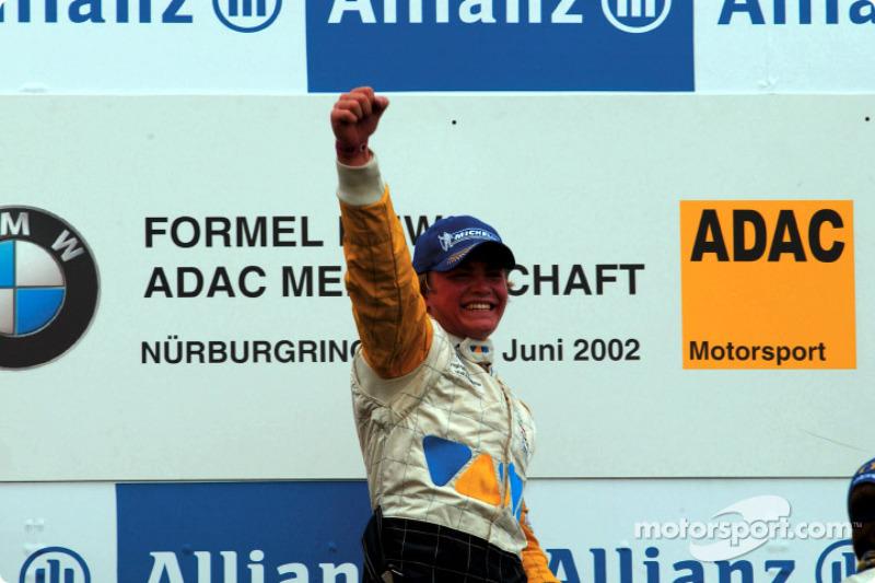 2002: Campeón de la Fórmula BMW ADAC