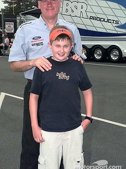 Rob Dyson with fan, Alex Rossini