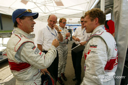 Rinaldo Capello and Tom Kristensen