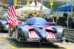 Panoz Motorsports on the starting grid