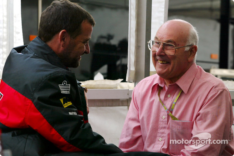 Paul Stoddart y Murray Walker