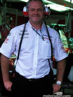 Team Toyota's Richard Cregan