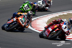 AMA regulars Eric Bostrom and Nicky Hayden occupy P4 and P5
