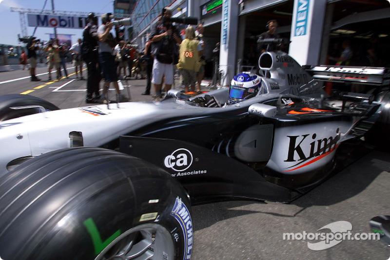 Кімі Райкконен, McLaren Mercedes