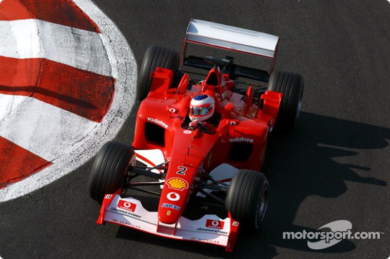 Рубенс Баррікелло, Ferrari