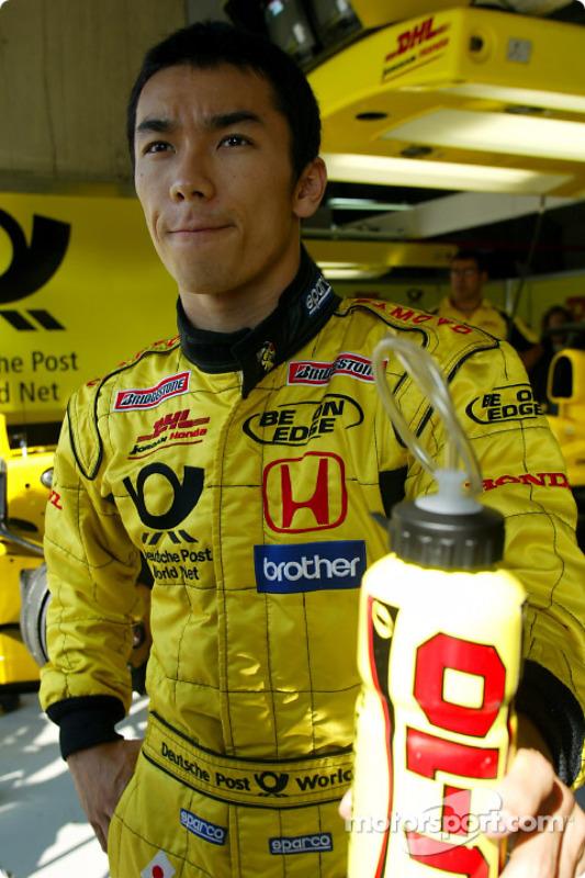 Такума Сато, Jordan Honda