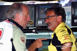 David Richards and Eddie Jordan