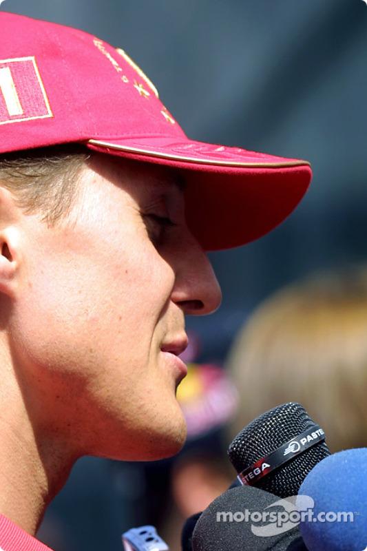 Interview pour Michael Schumacher
