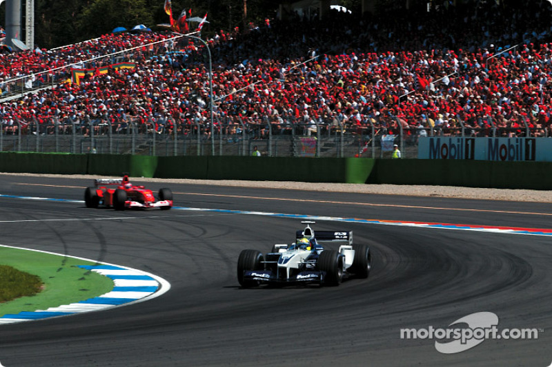 Ralf Schumacher devant Rubens Barrichello