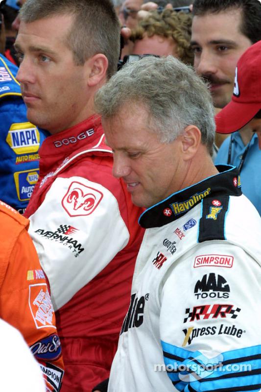 Jeremy Mayfield et Ricky Rudd