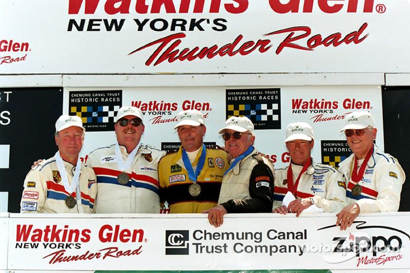 Winners circle GT Enduro