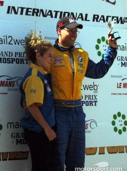 The podium: Will Turner