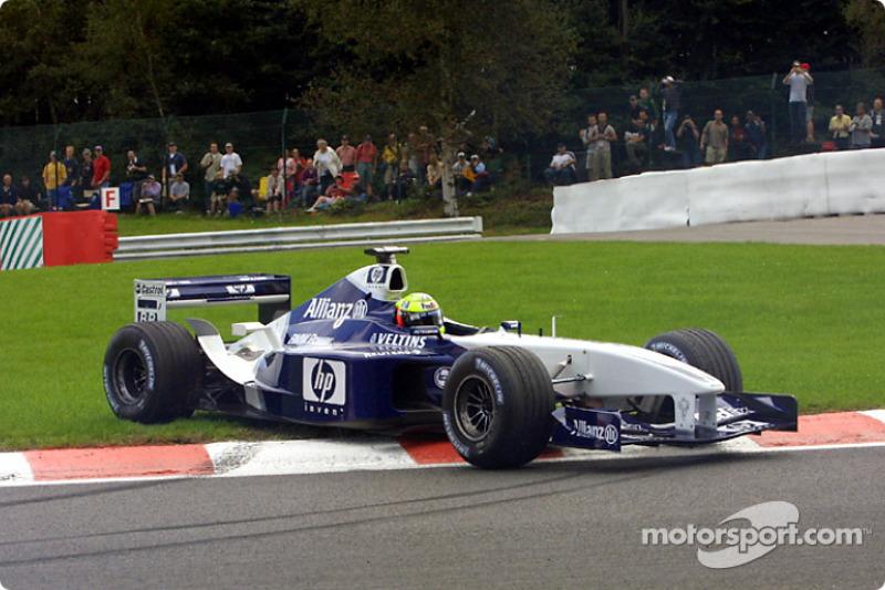 17: Ralf Schumacher: 118 GPs (65,56% dos disputados)