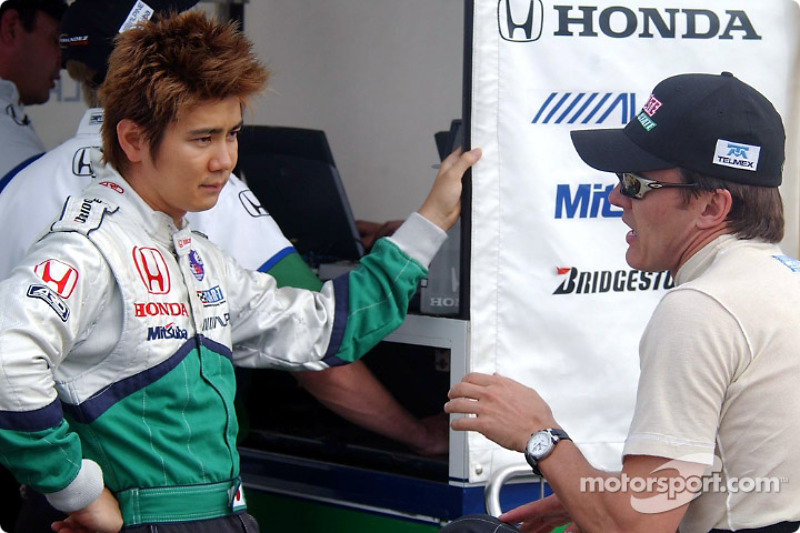 Shinji Nakano et Adrian Fernandez