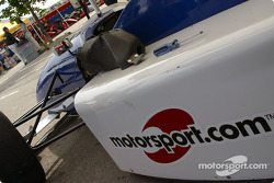 The Motorsport.com car driven by Davy Cook