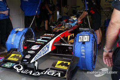 Pruenas en septiembre en Monza