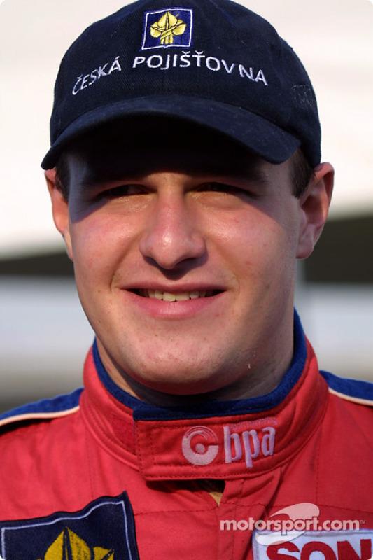 F3000 champion Tomas Enge
